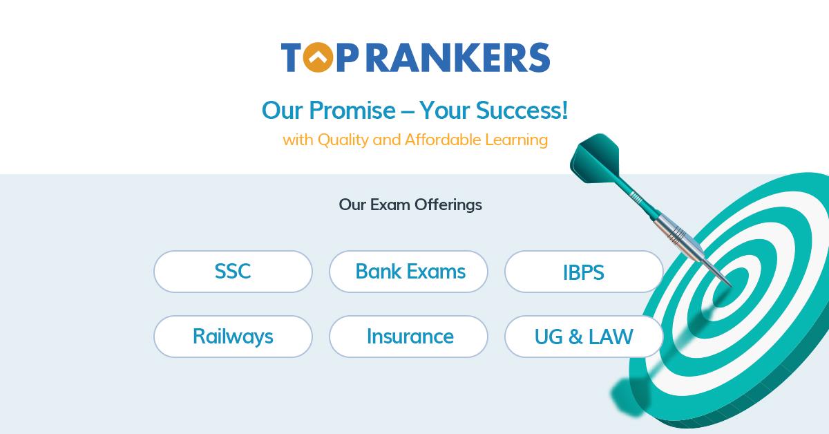 Toprankers: Online Mock Test Series | Govt & Entrance Exams